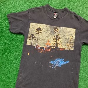 Vintage 90s Eagles Band Hotel California Tour Tee